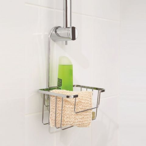 Croydex Riser Rail Hanging Shower Storage Caddy